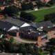 Luftfoto af Rødding Centret