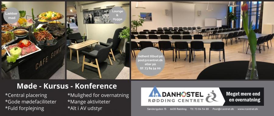 Møde, kursus og konferencer - Rødding Centret kan klare det hele.